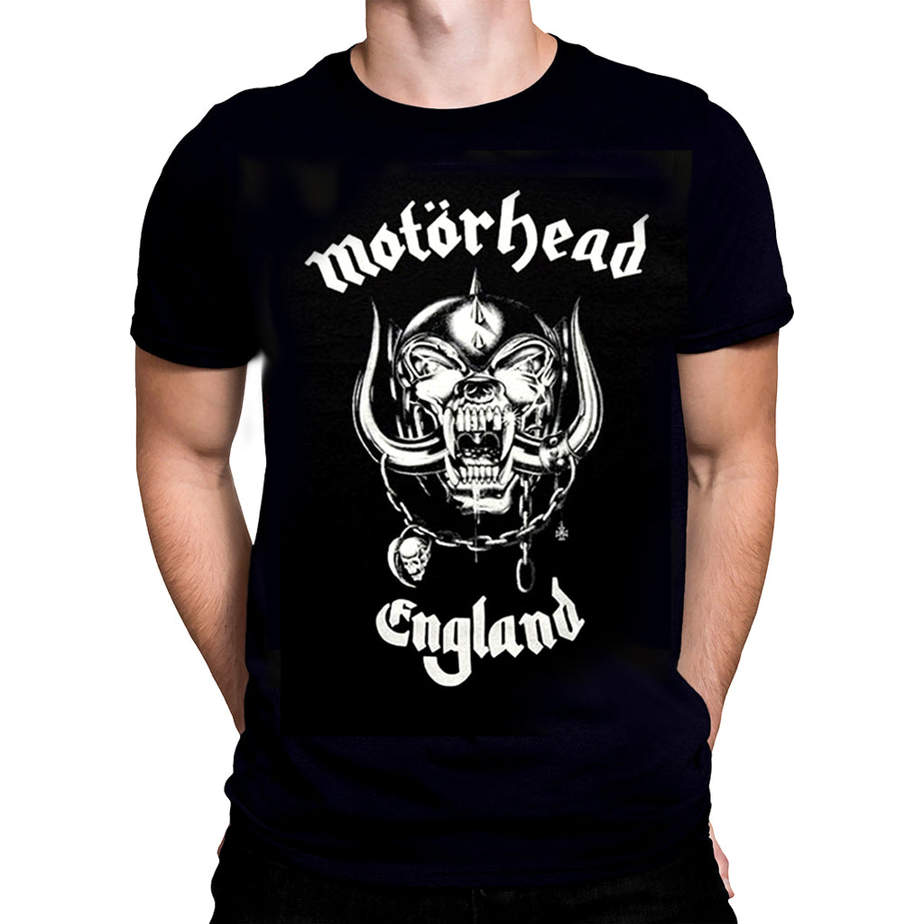 Rock Off - MOTORHEAD ENGLAND - Mens T-Shirt