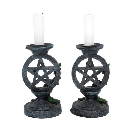 Back of the Candle Holders