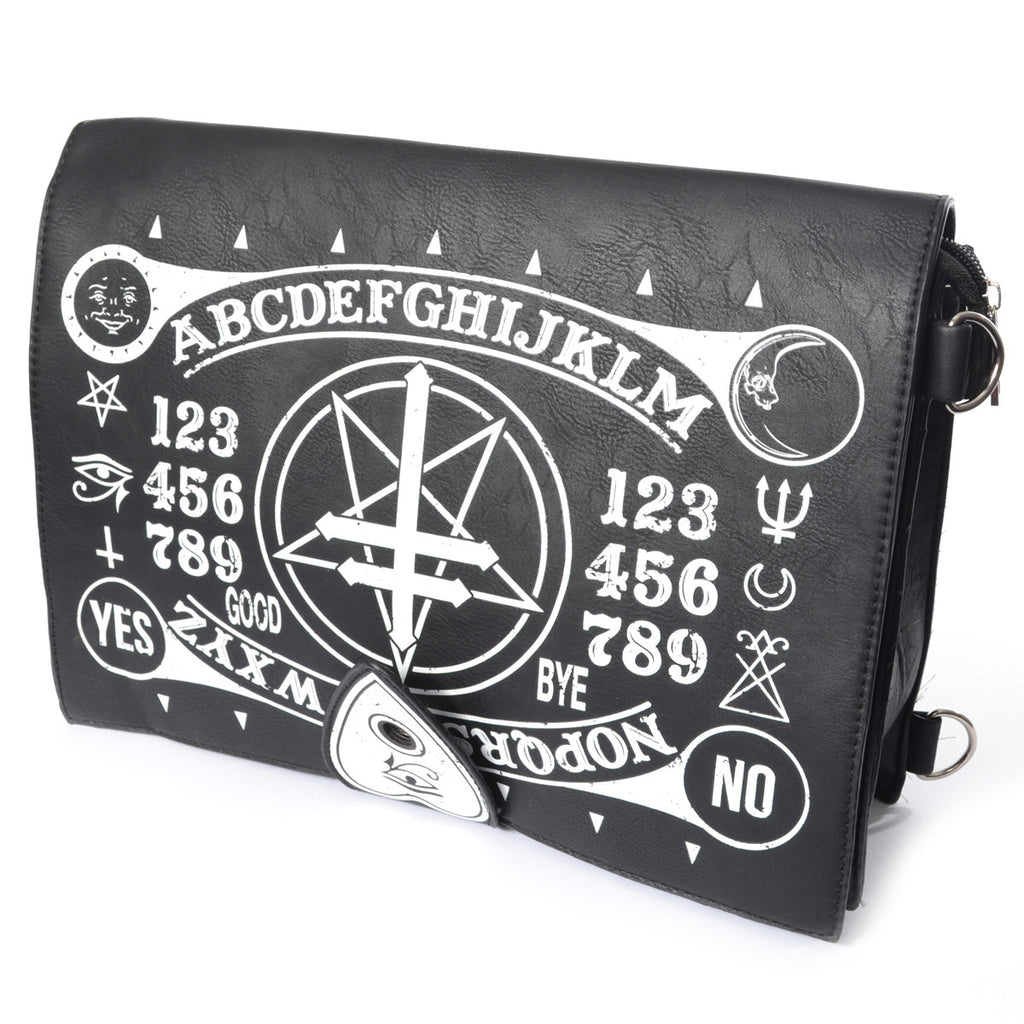 POIZEN - OCCULT BAG - Messenger Bag - Black