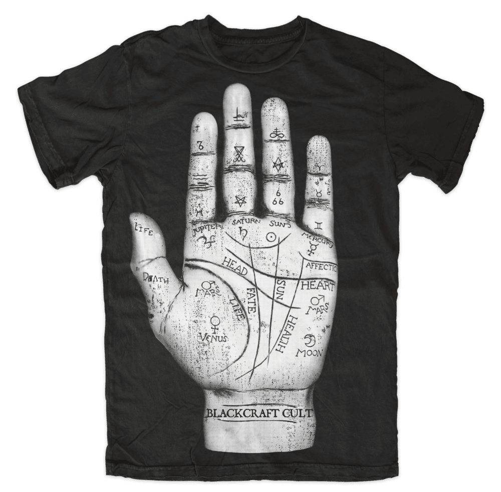 Blackcraft Cult - PALM READER - Men's T-Shirt