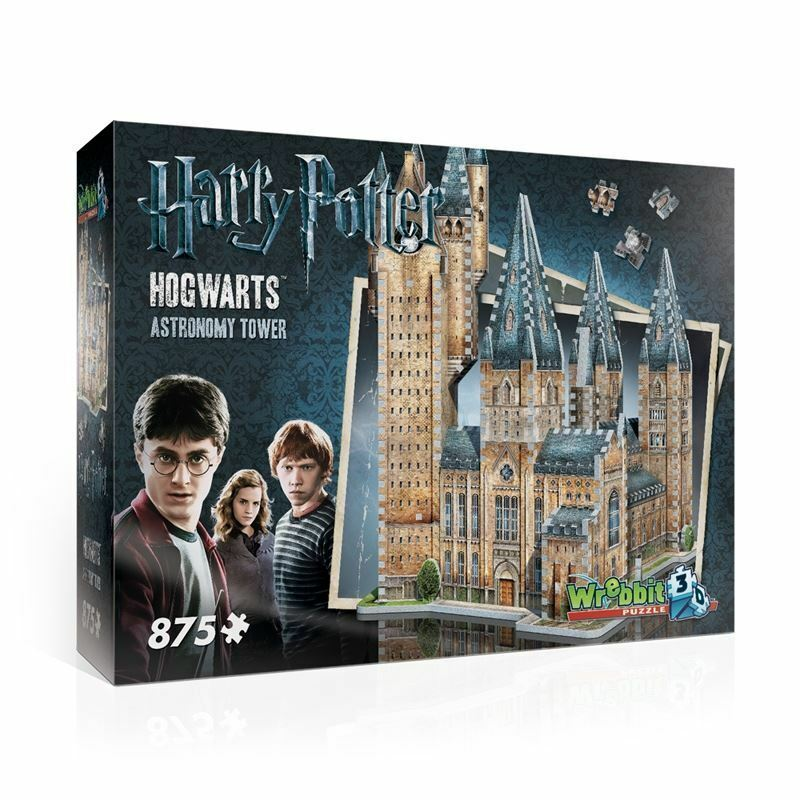Harry Potter (TM): Poudlard  Astronomy Tower - 3D Puzzle - 875 pieces