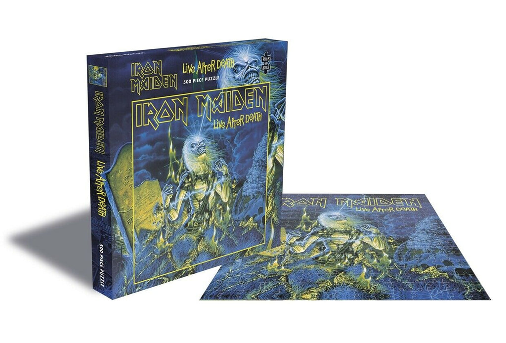 Rock Saws - LIVE AFTER DEATH - Iron Maiden - 500 piece Jigsaw Puzzle