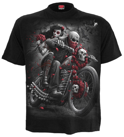 Spiral - DOTD Bikers - Men's Black Short Sleeve T-Shirt