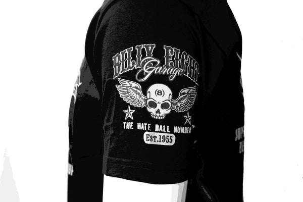 Billy Eight - OLD RACER - Mens T-Shirt - Black