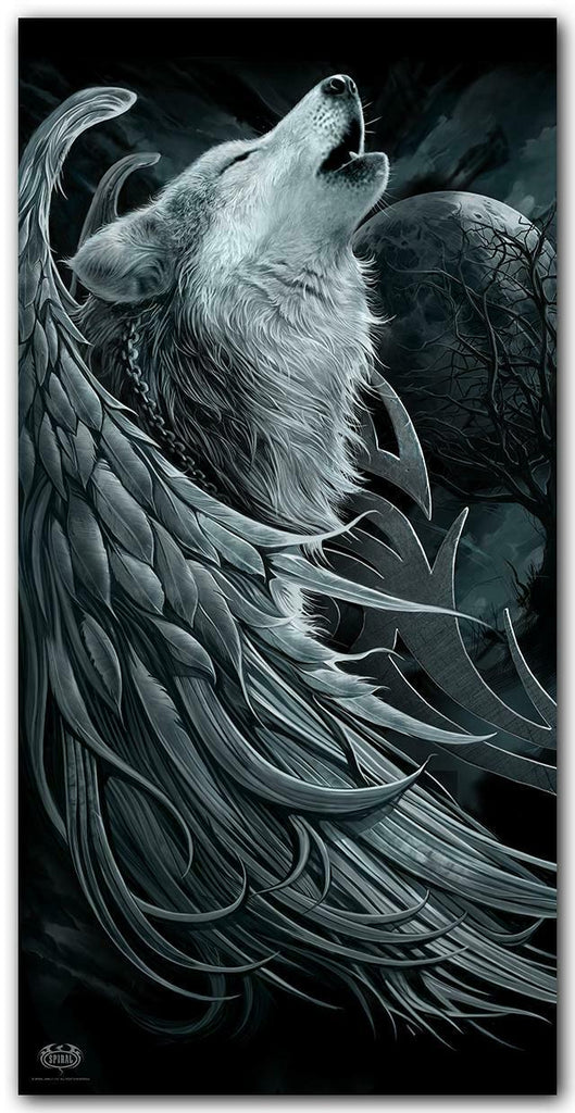 Spiral Direct - WOLF SPIRIT - Bath Towel