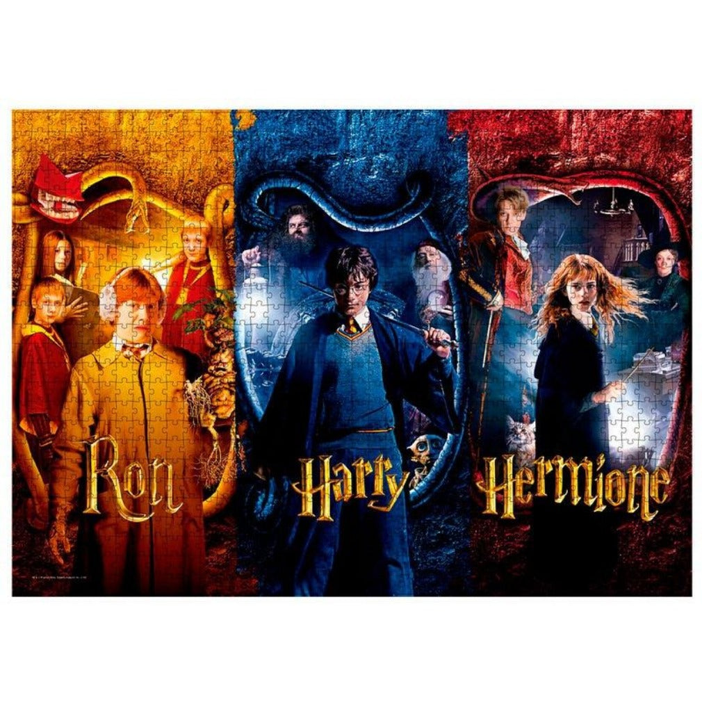Ron, Harry and Hermione Harry Potter 1000pcs Puzzle