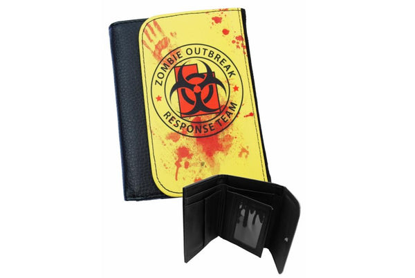 Darkside - ZOMBIE RESPONSE  - Bi-Fold Simulated Leather Wallet
