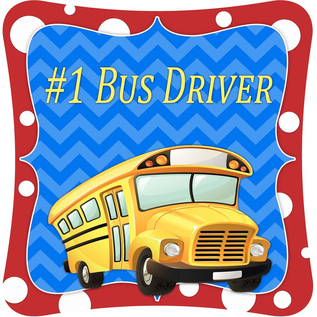 #1 Bus Driver -  Decor