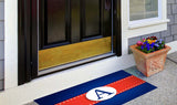 Red, White & Blue Initial Welcome Mat