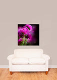 Purple Aster Flower Vinyl Print