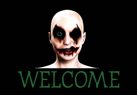 Scary Halloween - Zombie Welcome Mat