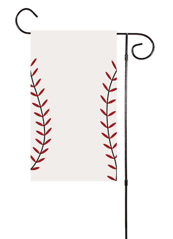 Baseball or Softball Garden Flag
