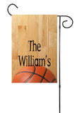Basketball Custom Garden Flag