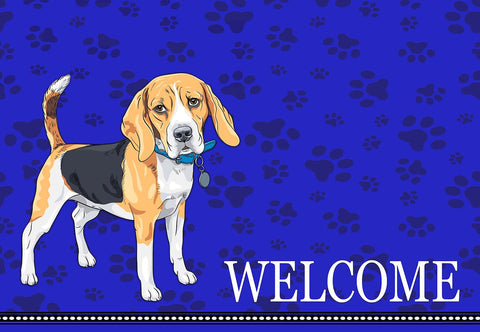Beagle Welcome Mat