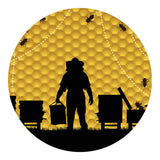 Bee Honeycomb Sticker