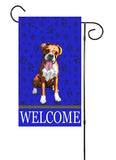 Boxer Dog Garden Flag