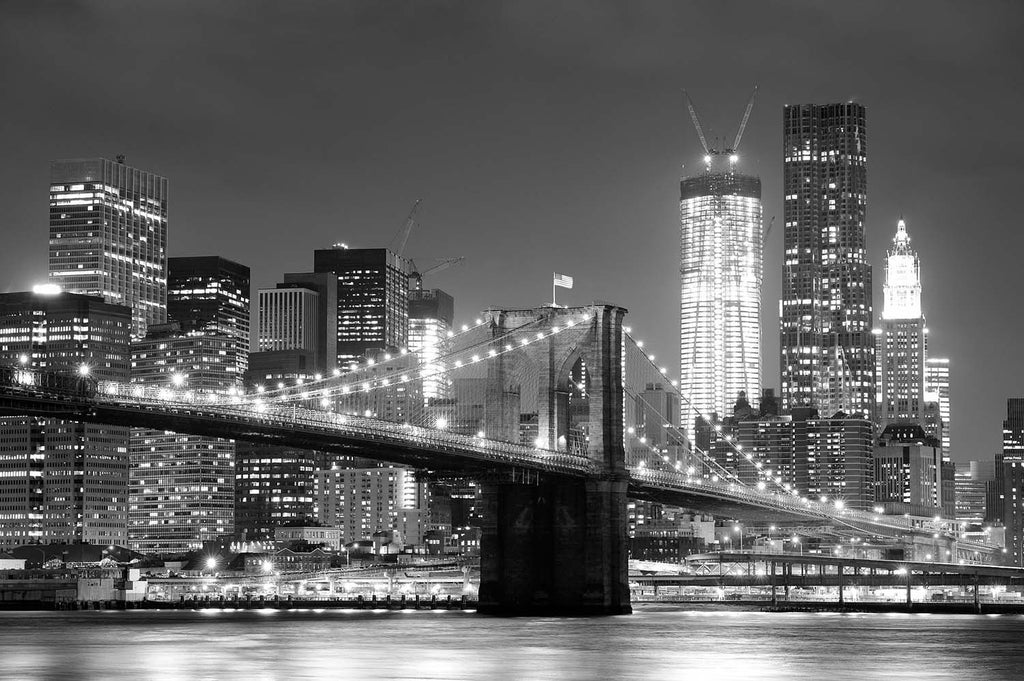 Brooklyn Bridge, New York Vinyl Print