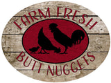 Farm Fresh Butt Nuggets - Chicken Hanger