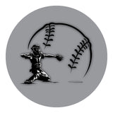 Baseball - Catcher Sticker