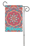 Colorful Mandala Welcome Garden Flag