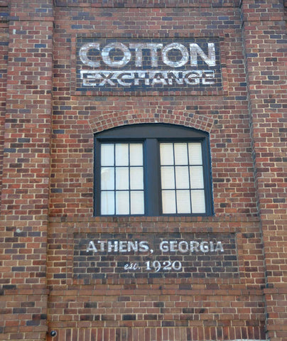 Cotton Exchange - Athens, Georgia Vinyl Print