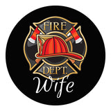 Fireman's Wife Sticker