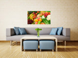 Fruits & Vegetables Vinyl Print