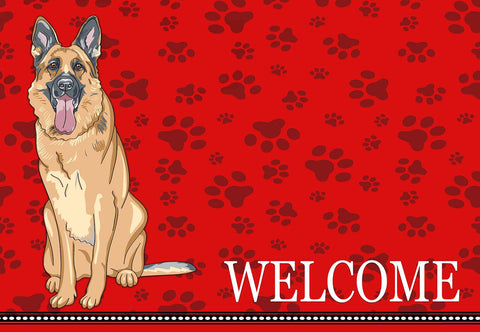 German Shepard Dog Welcome Mat