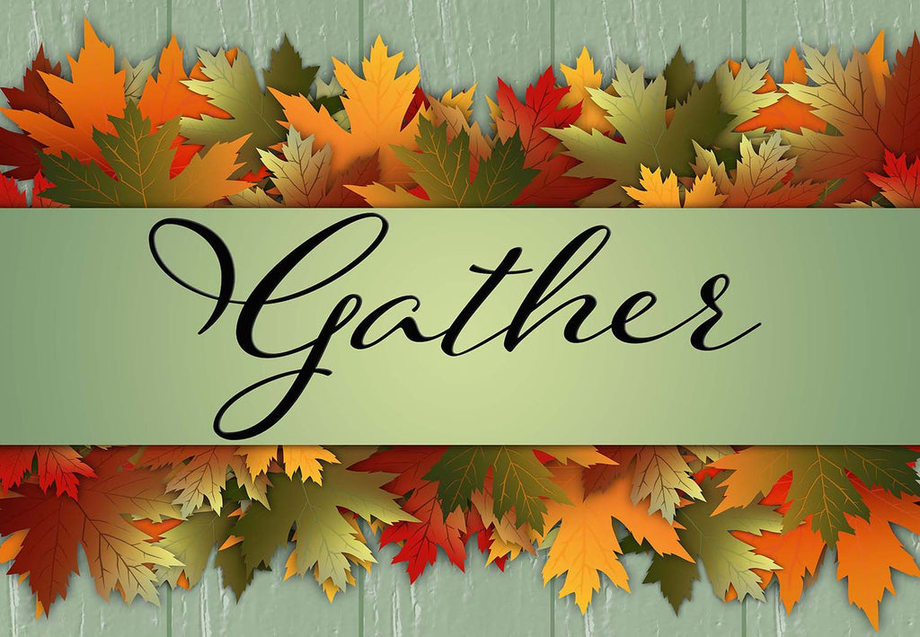 Gather - Fall Leaves Welcome Mat