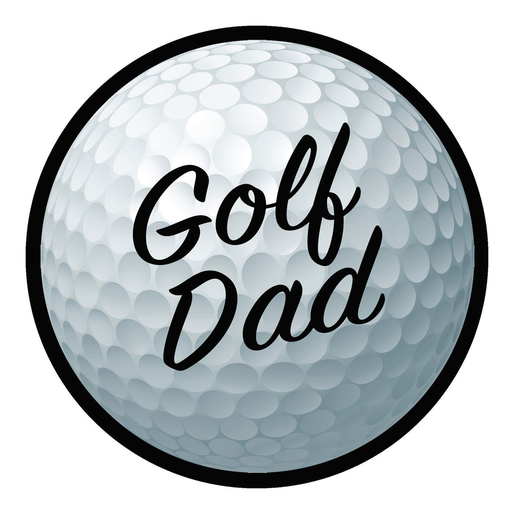 Golf Dad Sticker