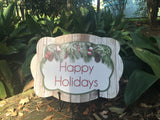 Happy Holidays Door Hanger