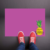 Hello Summer - Pineapple Purple Welcome Mat