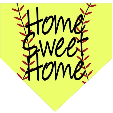 Softball Homeplate Door Hanger
