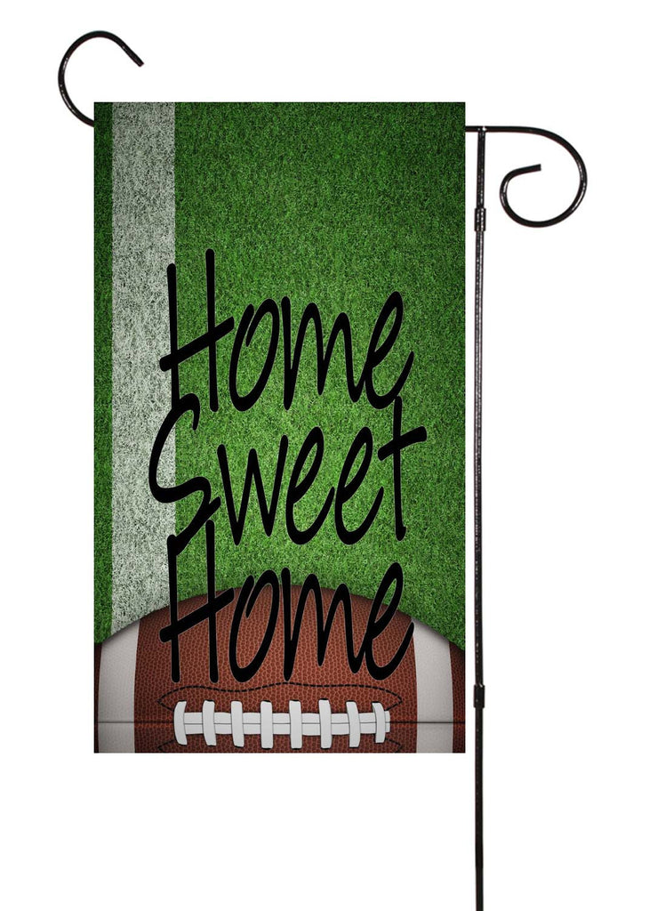 Football - Home Sweet Home - Garden Flag