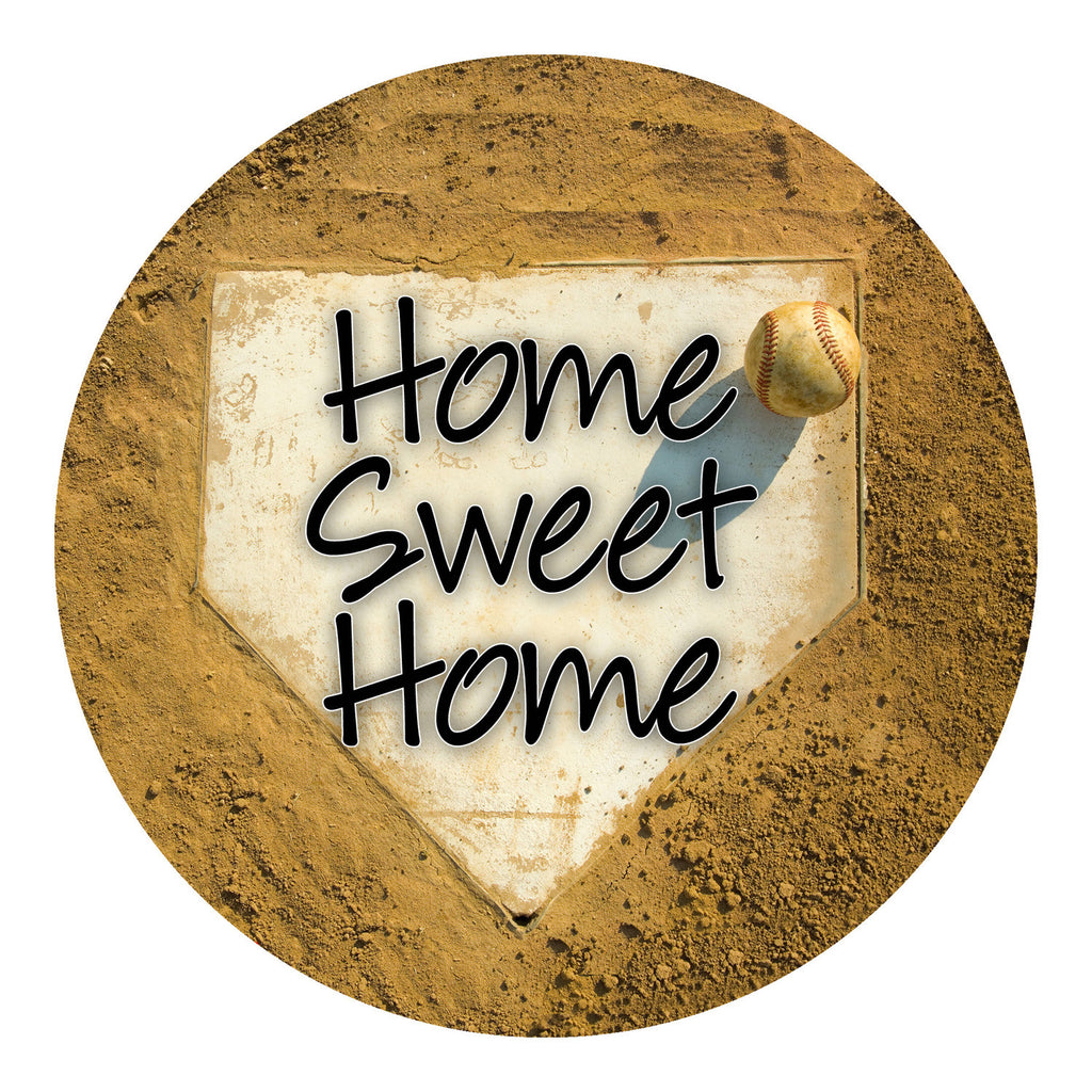 Home Sweet Home Baseball Sticker