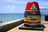Southernmost Key West Florida Vinyl Print