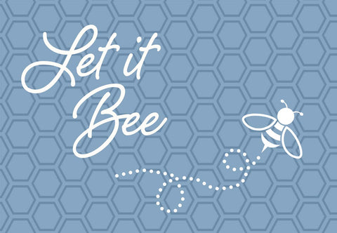 Let It Bee Welcome Mat