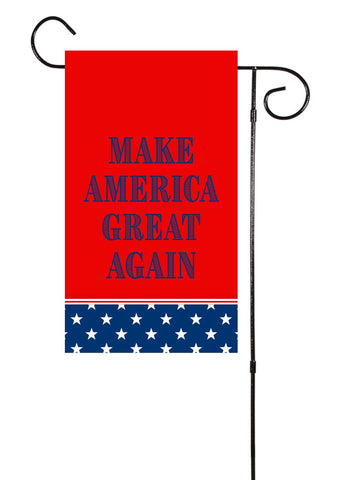 Make America Great Again Garden Flag