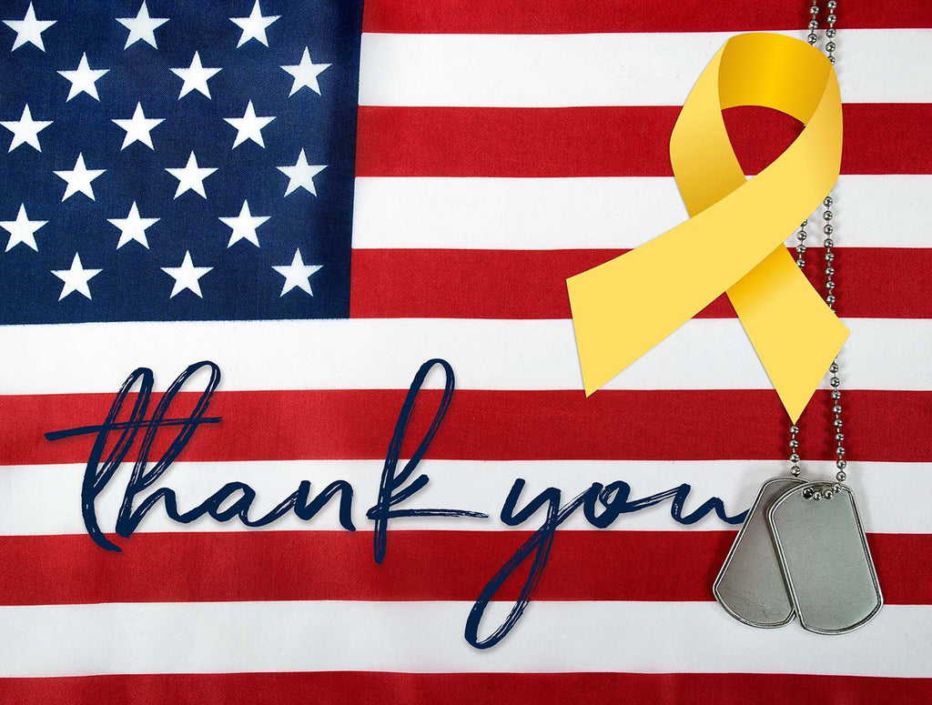 Thank You! Military Homecoming Sign / Door Hanger