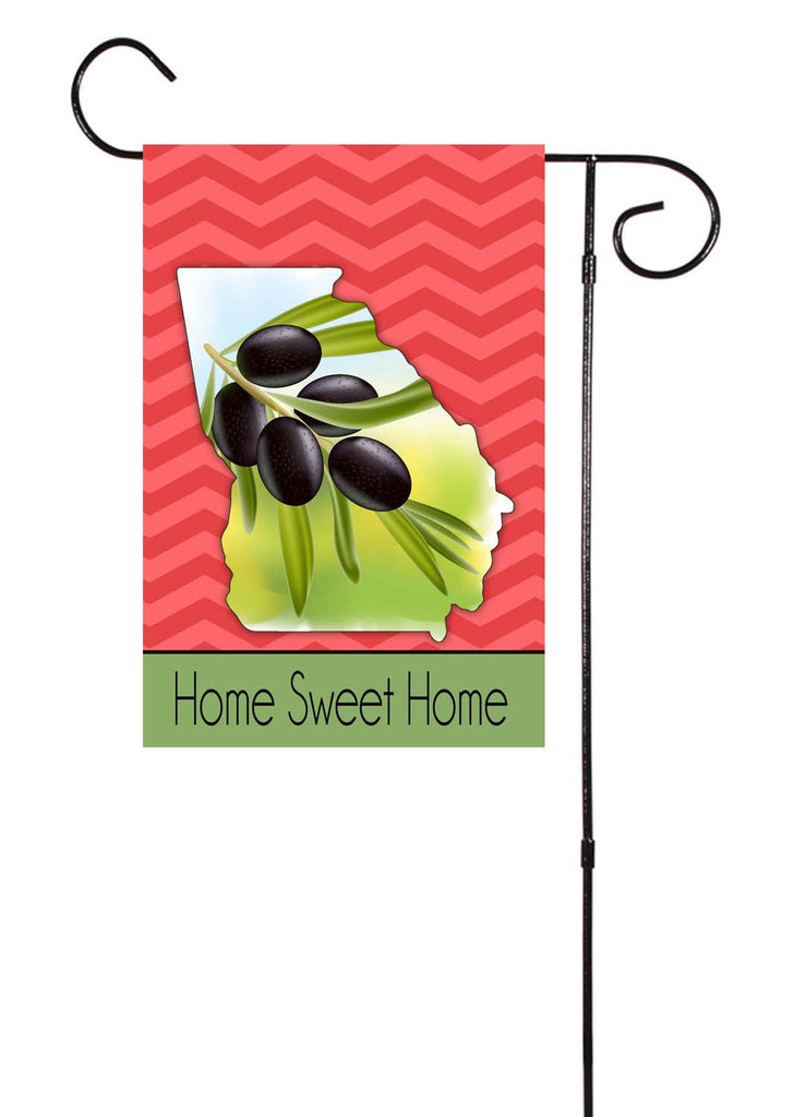 Georgia - Olive Tree - Garden Flag