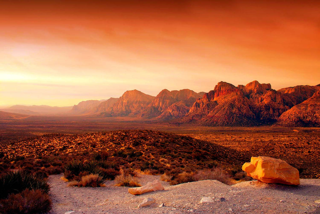Red Rock Canyon Las Vegas, Nevada Vinyl Print