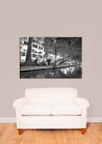 San Antonio Texas Riverwalk Vinyl Print