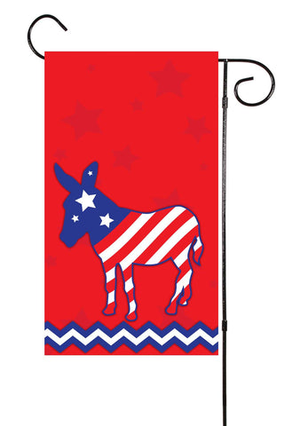 Stars & Stripes Political Garden Flag