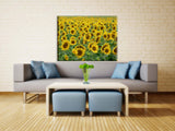 Sunflowers Vinyl Print