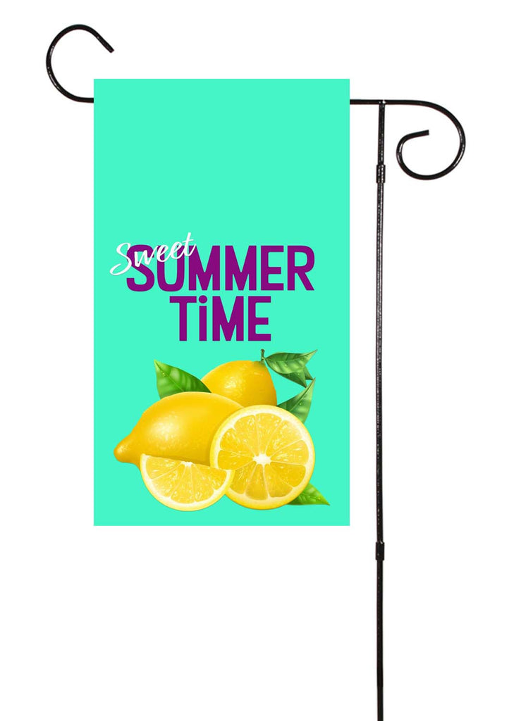 Sweet Summer Time Garden Flag