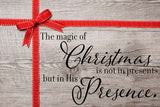 The Magic Of Christmas Vinyl Print