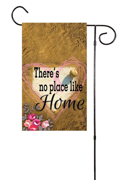There S No Place Like Home Floral Baseball And Softball