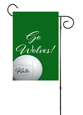Volleyball Custom Garden Flag