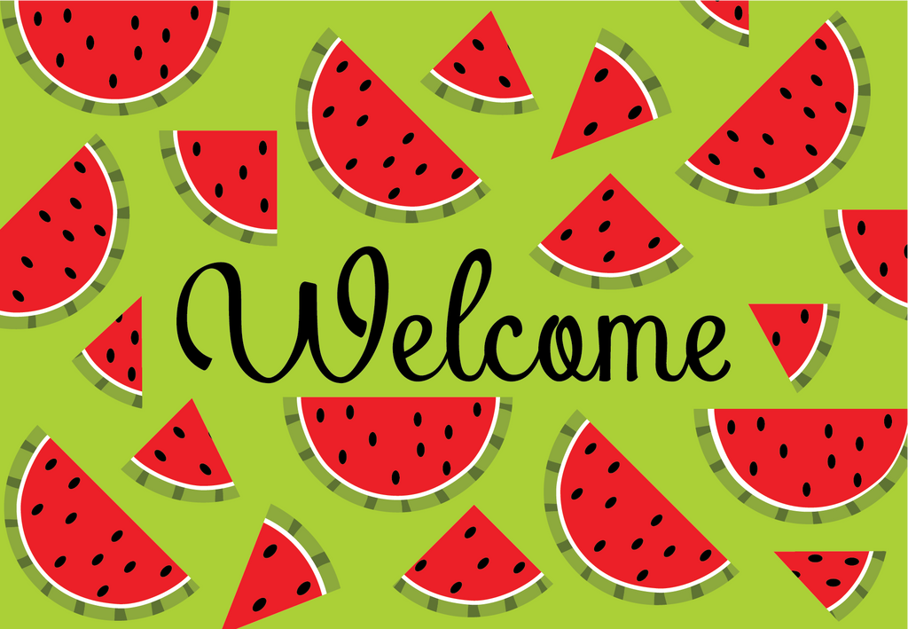 Watermelon - Summer Welcome Mat