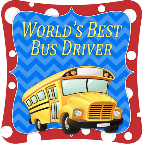 World's Best Bus Driver -  Decor